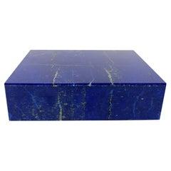 Royal Blue Lapis Lazuli Decorative Jewelry Gemstone Box