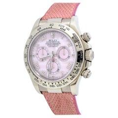 Rolex Daytona Beach Ref 116519 MOP Dial 18k White Gold Watch