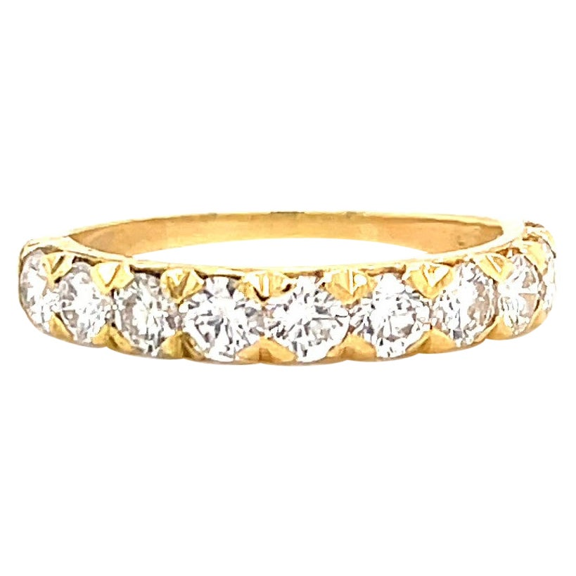 Oscar Heyman Diamond 18K Gold Band