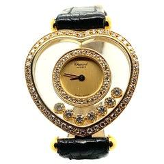 Chopard Happy Diamond Heart Ladies' Watch in 18 Karat Yellow Gold, Ref. 20/4516