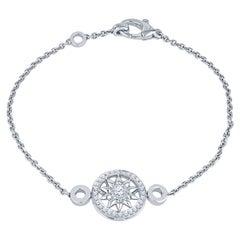 Harry Winston Winston Gates Platinum Bracelet with .29ctw Diamonds