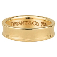Tiffany & Co. 1997 18k Yellow Gold Wedding Band