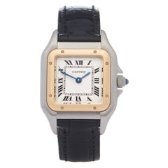 Cartier Panthère 0 1120 Ladies Yellow Gold & Stainless Steel 0 Watch