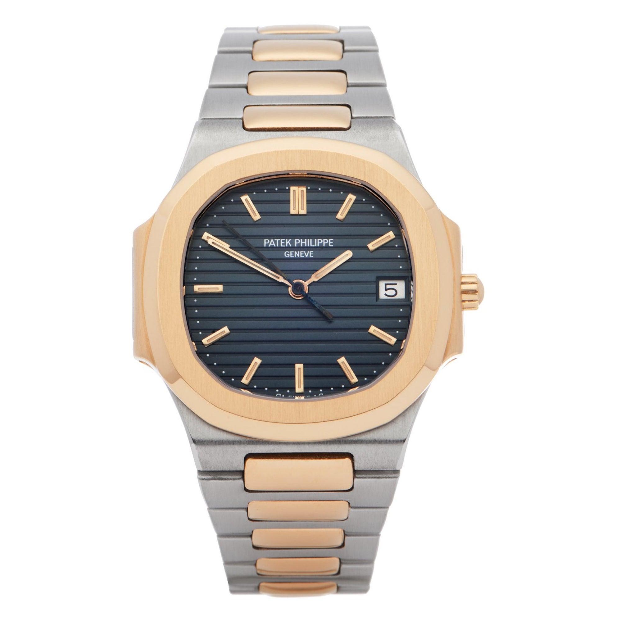 Patek Philippe Nautilus 0 3900 Ladies Yellow Gold & Stainless Steel 0 Watch