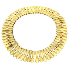 Spritzer & Furman 1980s 18 Karat Gold Necklace