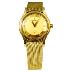 """Omega Constellation Ref. 168.005 """"PIE-PAN"""" Dial 18k Yellow Gold Watch"""