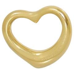 Tiffany & Co Elsa Peretti 18k Yellow Gold Medium Heart Pendant Tiffany & Co