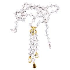 Emilio Jewelry 33.00 Carat Diamond Necklace