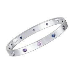 Cartier Love Bracelet Multi Gem White Gold
