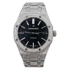 Audemars Piguet Royal Oak 15400ST.OO.1220ST.01 Stainless Box Paper Diamonds