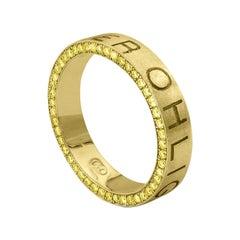 Namesake Ring in 18ct Yellow Gold with Yellow Diamonds