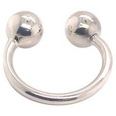 Tiffany & Co Estate Keychain Sterling Silver 5.5 Grams