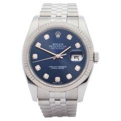 Rolex Datejust 36 116234 Men Stainless Steel 0 Watch