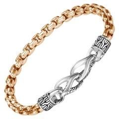 John Hardy Asli Box Chain Bracelet BM90288OZ