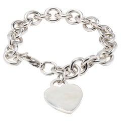 T&Co SS Heart Charm Bracelet