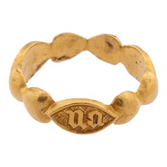 Antique Gold Band Ring