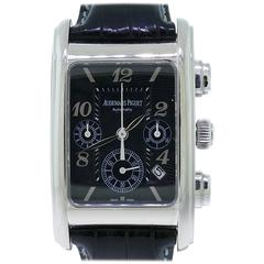 Audemars Piguet Edward Piguet White Gold Chronograph Wristwatch