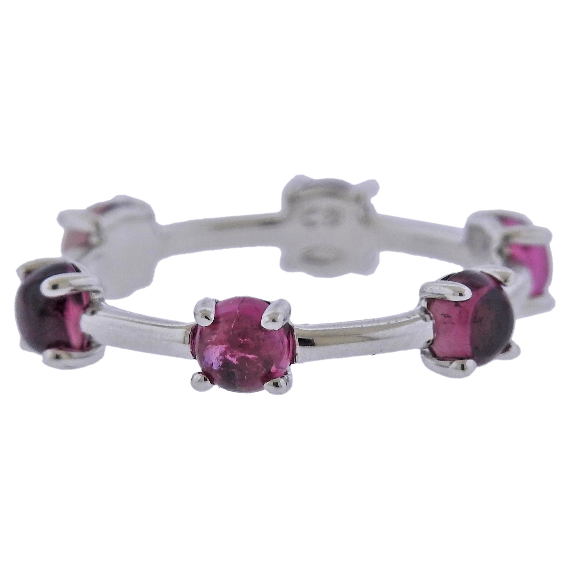 Bucherer Pink Tourmaline Gold Ring