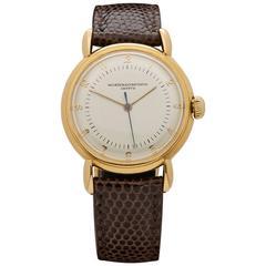 Vacheron & Constantin Yellow Gold Mechanical Wristwatch