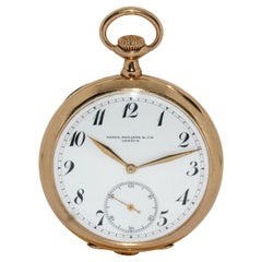 Patek Philippe 14 Karat Gold Pocket Watch, sold by W. Lennartz-Michels