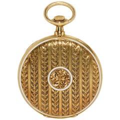 Patek Philippe 18 Karat Gold Pomp and Enamel Pocket Watch