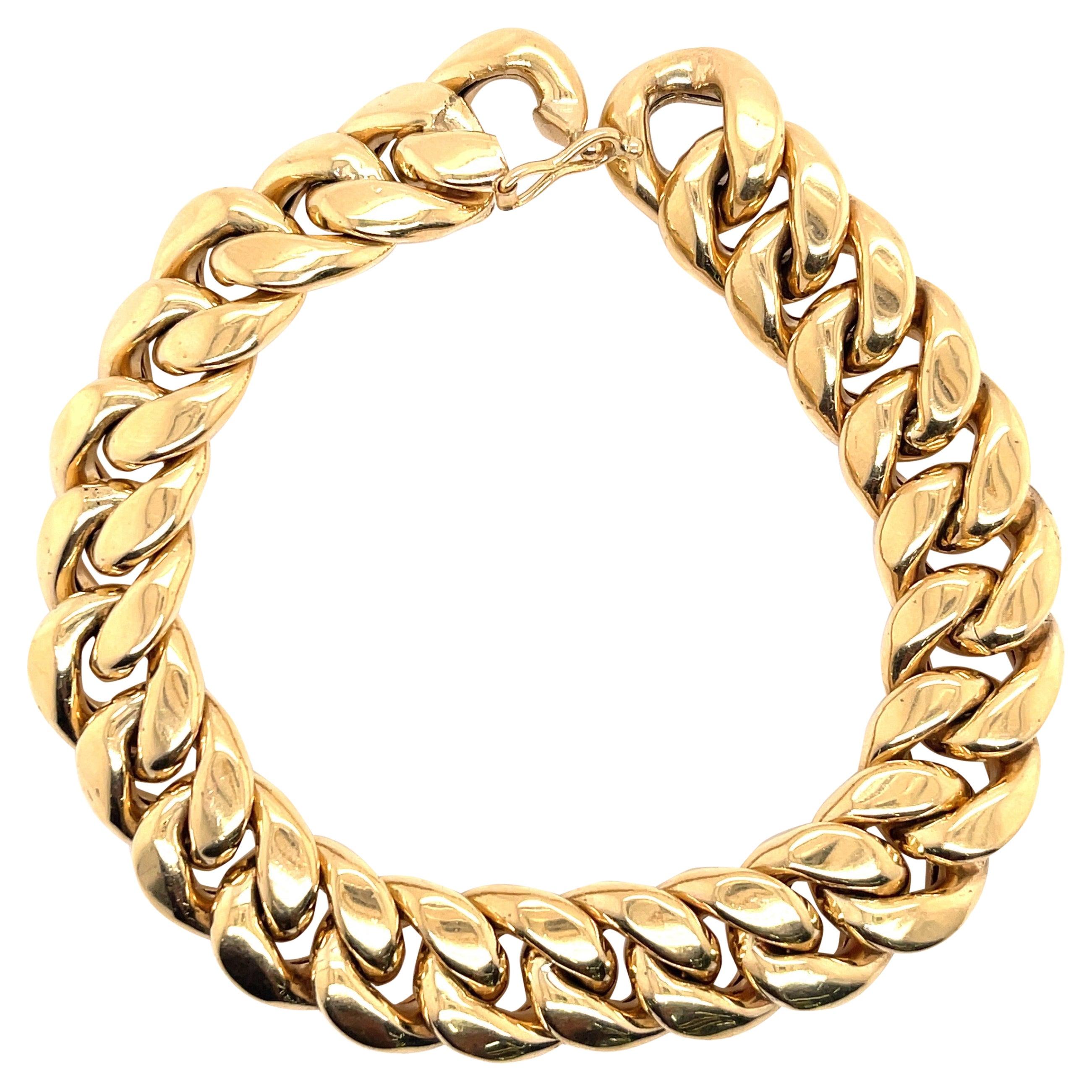 Gold Link Bracelet 43.32 g.