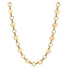 Syna 18 Karat Yellow Gold Geometrix Necklace