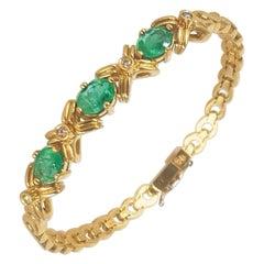 Emerald Modern Bracelets