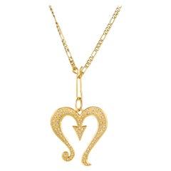 Prince's Scorpio Symbol Necklace