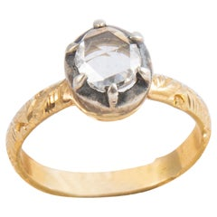0.70 Ct Rose Diamond Ring