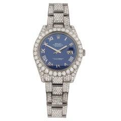 Rolex Datejust Custom Diamonds