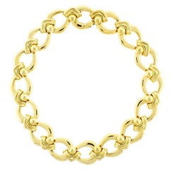 Carlo Weingrill Wide Open Link Necklace