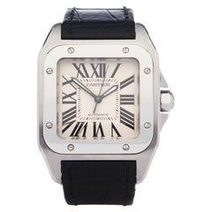 Cartier Santos 0 W20106X8 or 2878 Unisex Stainless Steel 0 Watch