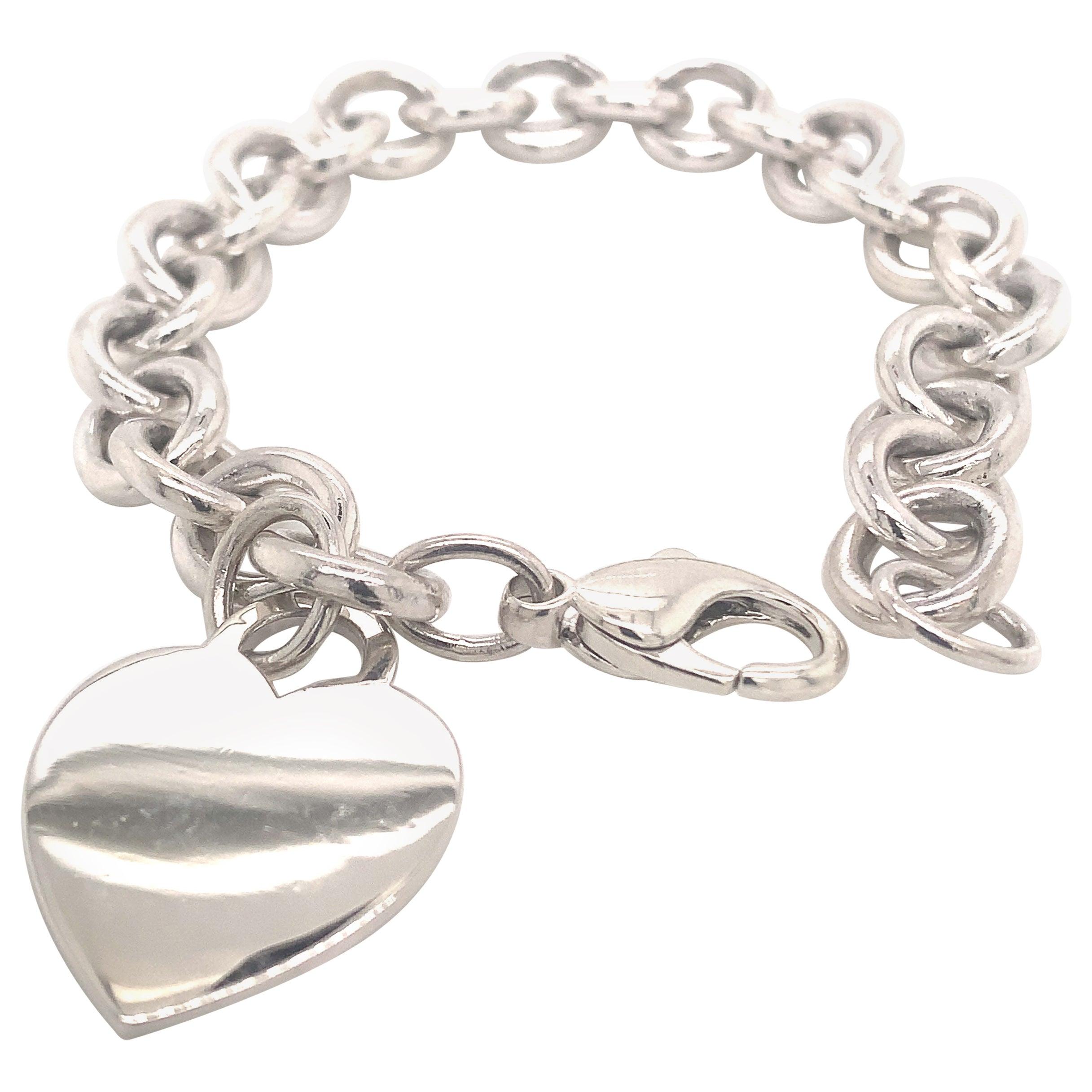 Tiffany & Co. Estate Sterling Silver Bracelet