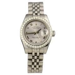 Rolex Datejust Ref.179160 Diamond Bezel Stainless Steel Watch 'R-210'