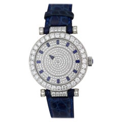 Franck Muller, Geneve Fine and Rare Lady's White Gold Mystery Wristwatch