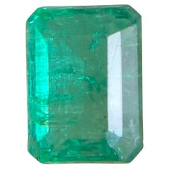 Fine Deep Green Natural Emerald 1.04ct Rare Loose Emerald Octagon Cut Gem