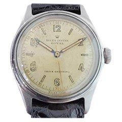Mens Rolex Oyster Royal Ref 4444 Manual Wind 1940s Vintage Swiss RA159