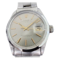 Mens Rolex Oyster Perpetual Date 1500 Automatic 1970s with Pouch RA190