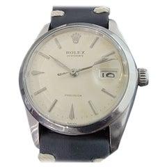 Mens Rolex Oysterdate Precision 6694 Manual Wind 1960s Swiss Vintage RA207