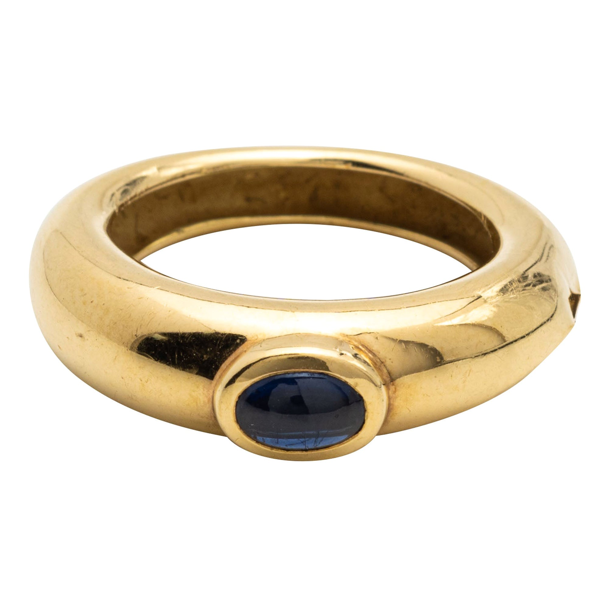 Chaumet, Sapphire and Gold Ring