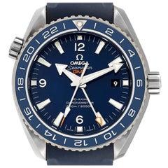 Omega Seamaster Planet Ocean GMT Watch 232.92.44.22.03.001 Box Card