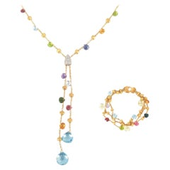 18ct Yellow Gold Marco Bicego Necklace & Bracelet Set