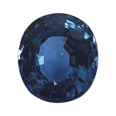 Oval Brilliant Cut Natural Sapphire