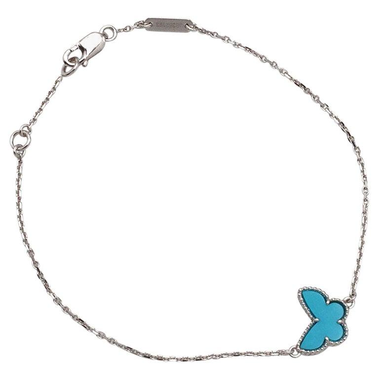 Van Cleef & Arpels 'Sweet Alhambra' Butterfly Bracelet