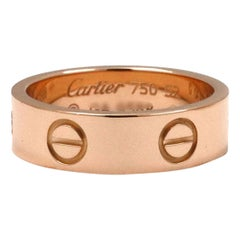 Cartier 'Love' Rose Gold Ring