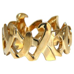 Tiffany Paloma Picasso XO 18kt Gold Ring