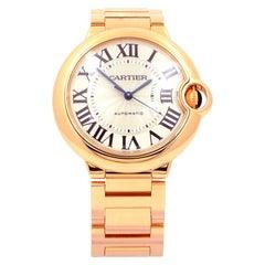 Cartier Certified Pre-Owned 18K Rose Gold Ballon Bleu