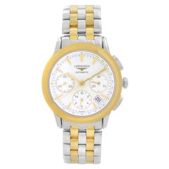 Longines Flagship Chronograph Steel White Dial Automatic Watch L4.803.3.22.7
