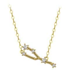 Taurus Star Constellation Necklace